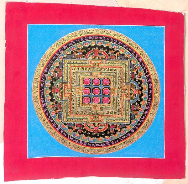 Kalachakra Thangka - rot